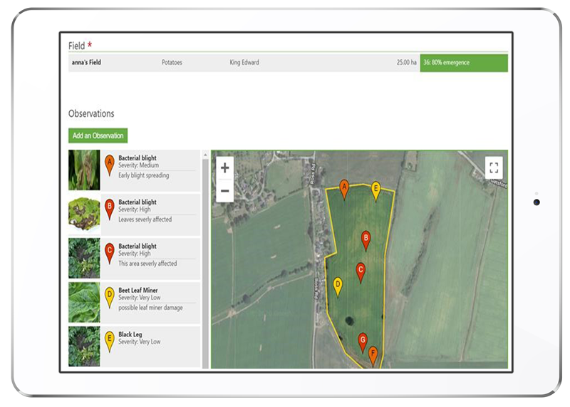 Greenlight Grower Management Field Tracking In Ipad, Farm Management Software