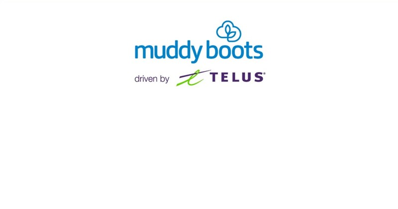 Muddy Boots Logo With Frame 2